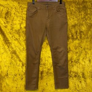 Prana Ulterior Embark Brown Slim Fit Pants sz32